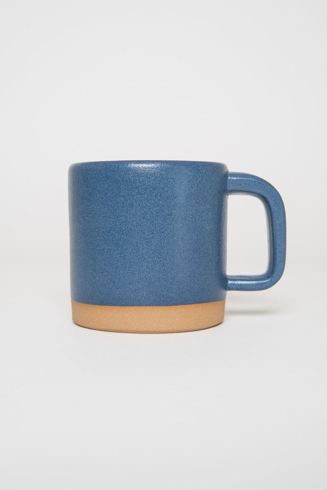 Settle Ceramics Cappuccino Mug Navy Blue