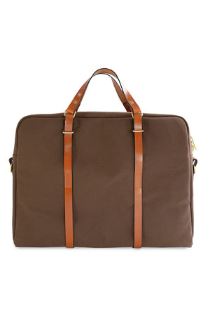Southern Field Industries Briefcase - Oak and Tan