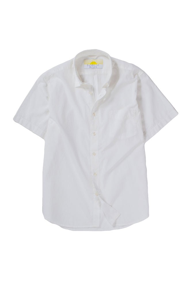 Cambric Shirt - Short Sleeve - Natural
