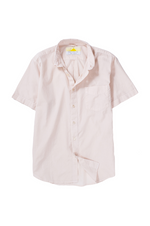 Cambric Shirt - Short Sleeve - Rose
