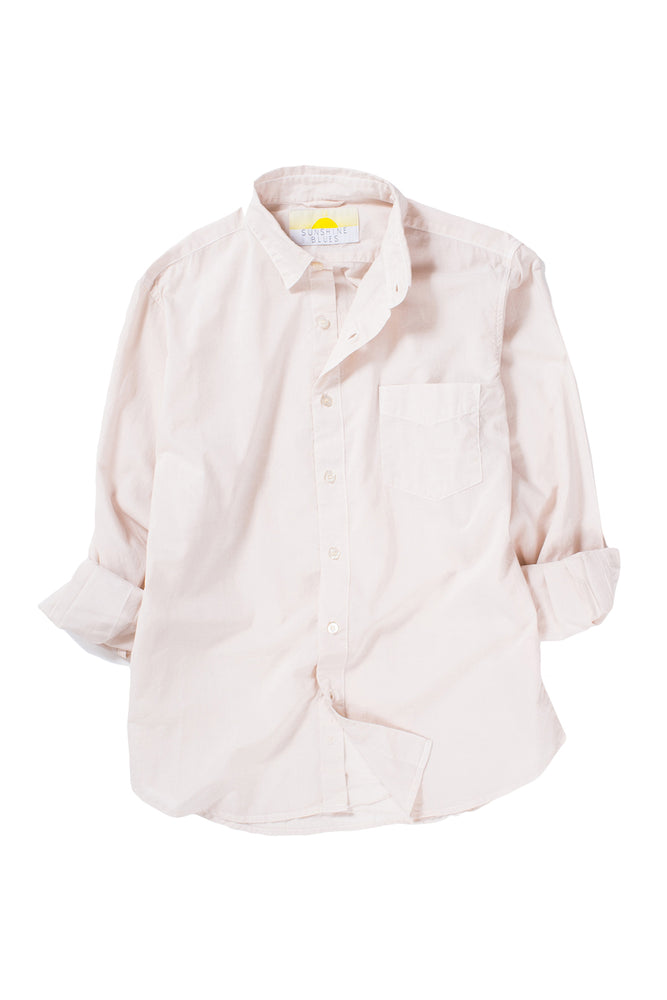 Cambric Shirt- Long Sleeve - Rose