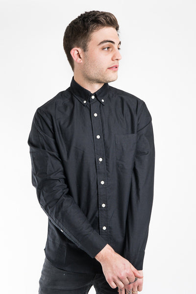 Taylor Stitch Black Everyday Oxford Jack