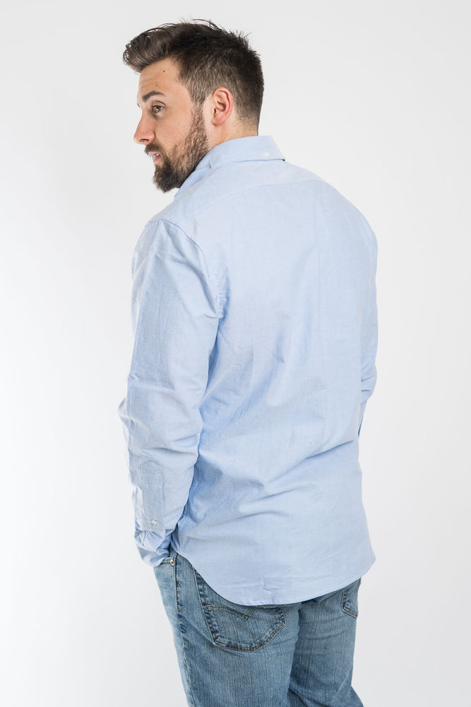 Taylor Stitch Blue Everyday Oxford Jack Shirt - Light Blue