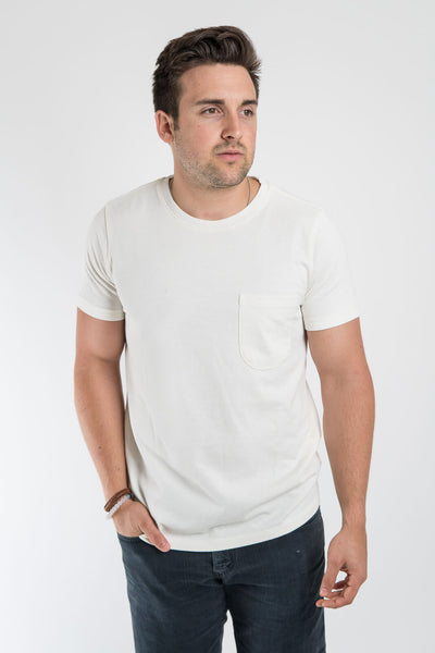 Taylor Stitch Natural Heavy Bag Tee