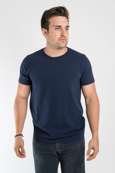 Taylor Stitch Heavy Bag Tee Navy