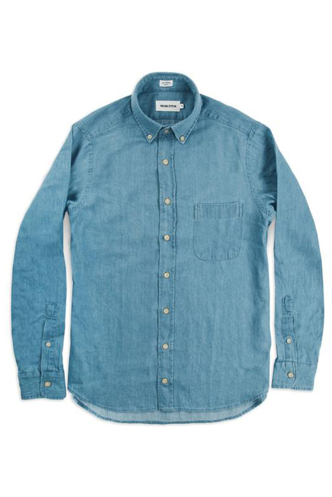 Everyday Oxford Jack  - Sun Bleached Denim