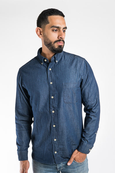 Taylor Stitch Sea Washed Denim Shirt