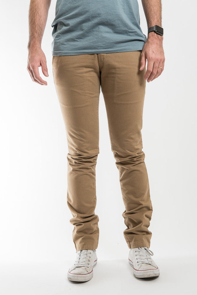 Taylor Stitch Khaki Standard Issue Slim Chino