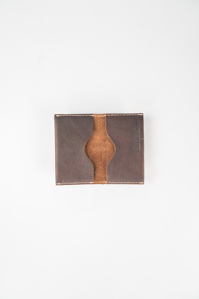 Texas Rover Brown Card Wallet