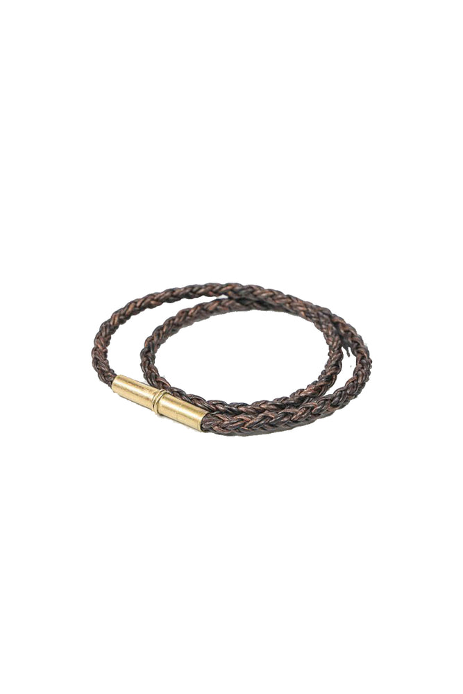 Flint Braided Bracelet - Brown