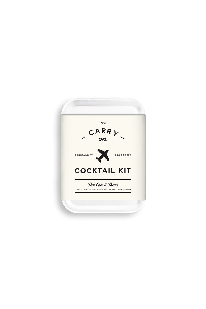 Gin and Tonic Carry On Cocktail Kit