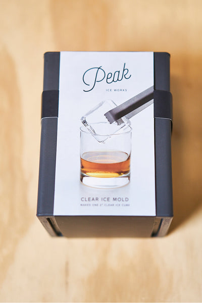 W&P Design Peak Clear Cube Ice Mold