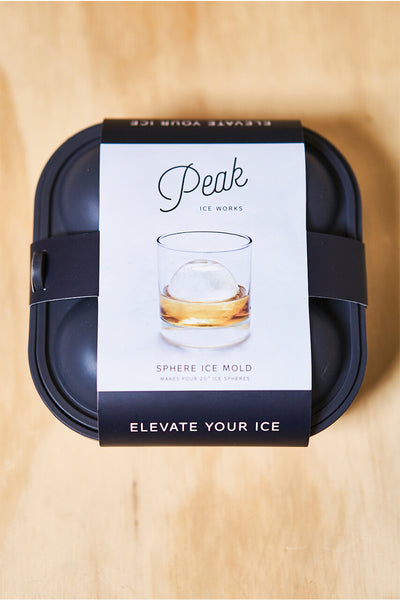 W&P Design Peak Sphere Ice Molds