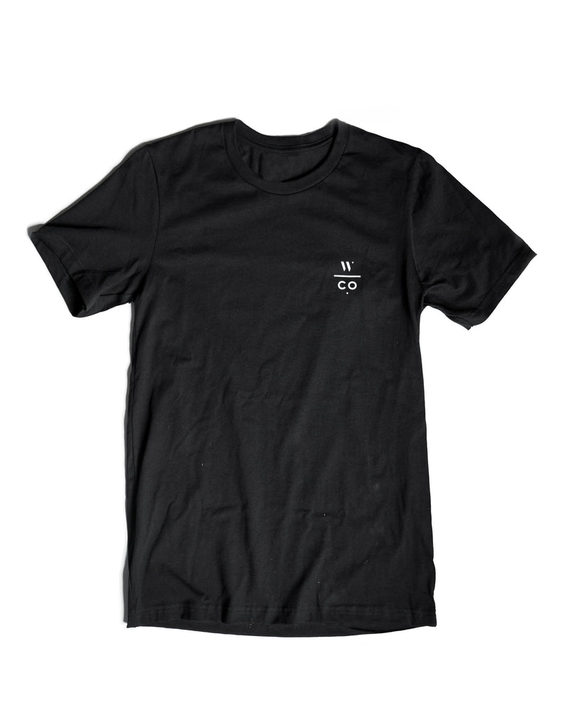 Weathered Coalition Black WCO Tee
