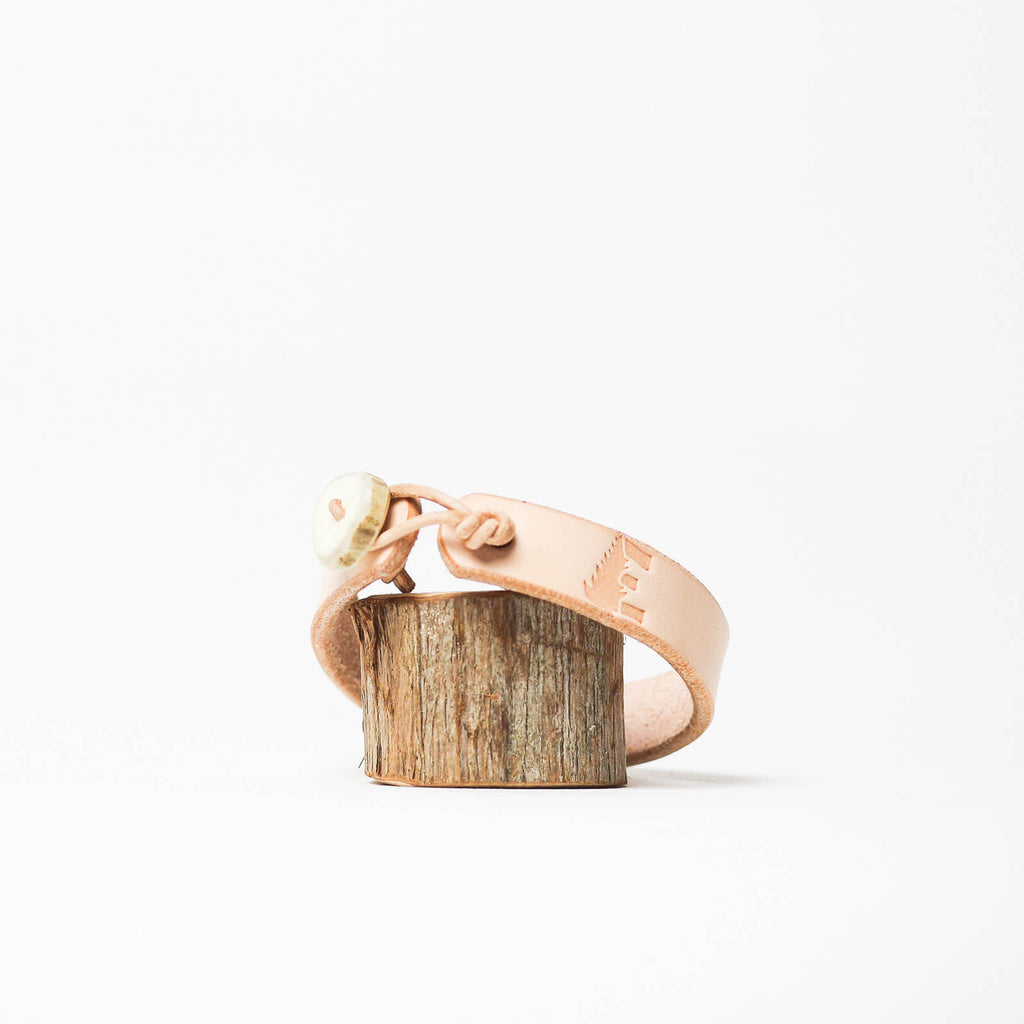 Ewing Dry Goods Natural Psalm 42:1 Cuff