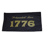 1776 Large Canvas Flag