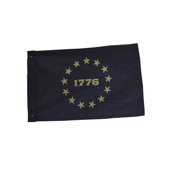 Wild Standard 1776 Small Canvas Flag