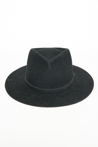 Yellow 108 Dylan Black Fedora