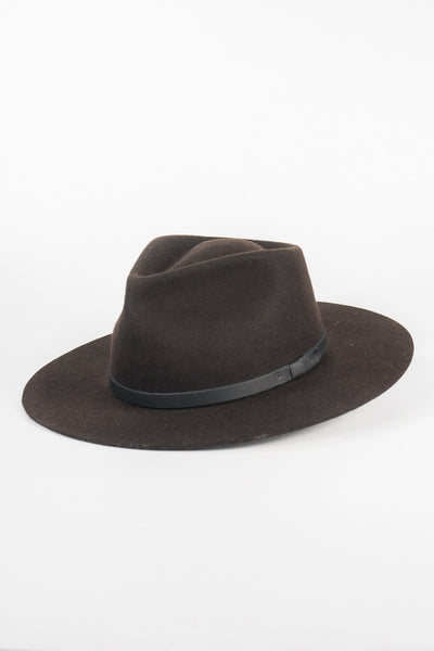 Yellow 108 Dark Brown Dylan Fedora
