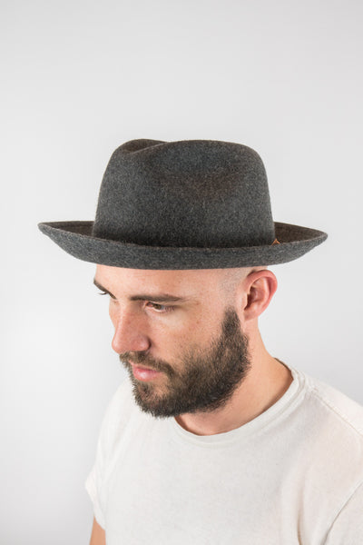 Yellow 108 Grey Luke Fedora