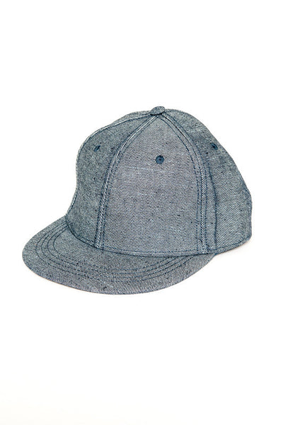 Yellow 108 Reverse Denim Perfecto Cap