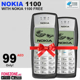 Nokia 1100 With One Nokia 1100 Free