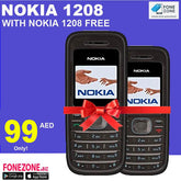 Nokia 1208 With One Nokia 1208 Free