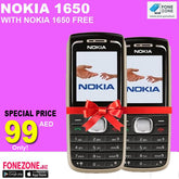 Nokia 1650 With One Nokia 1650 Free