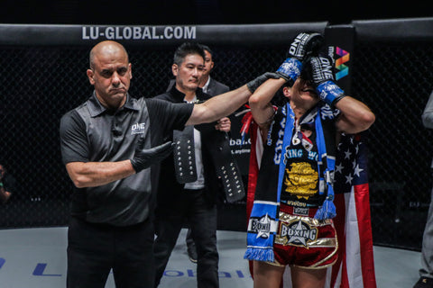 Janet Todd wins ONE Championship Kickboxing Belt