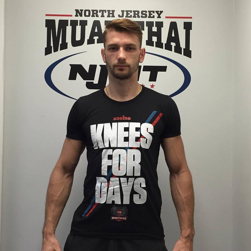 "InFightStyle ""Knees for Days"" T-Shirt - Black - InFightStyle Muay Thai Gear, T-Shirt"