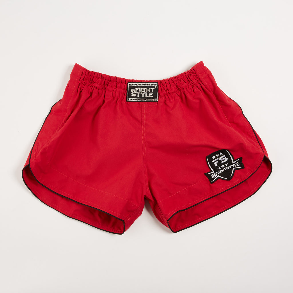InFightStyle Training Line - Red Wine - InFightStyle Muay Thai Gear, Training Line Shorts