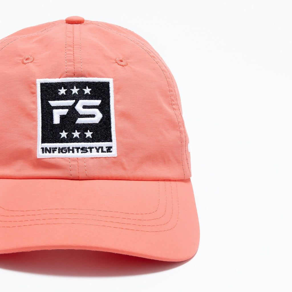 FS Nylon Dude Hat - Coral