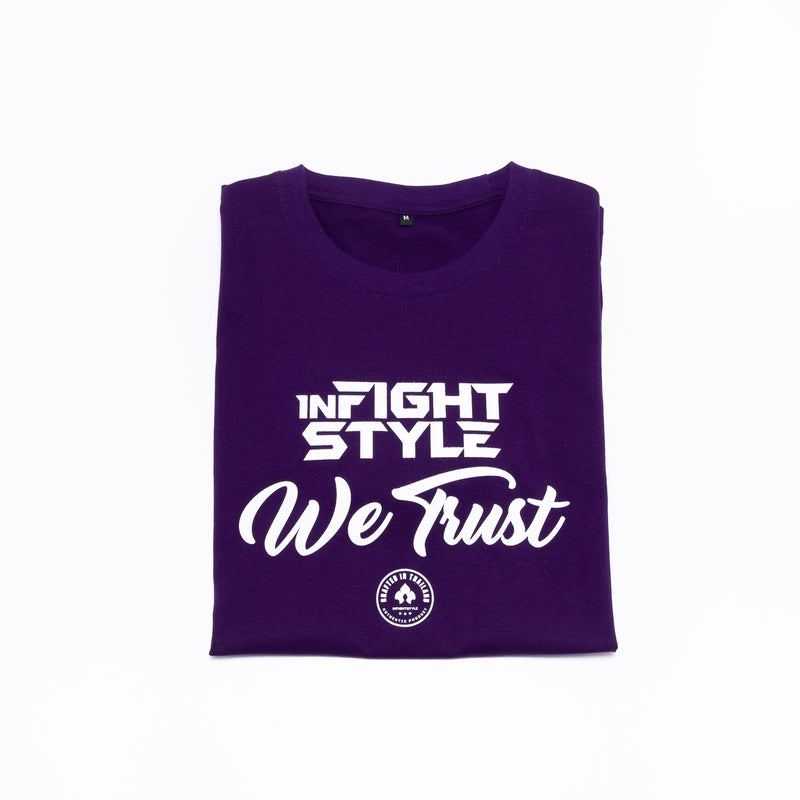 Infightstyle We Trust T-Shirt - Purple