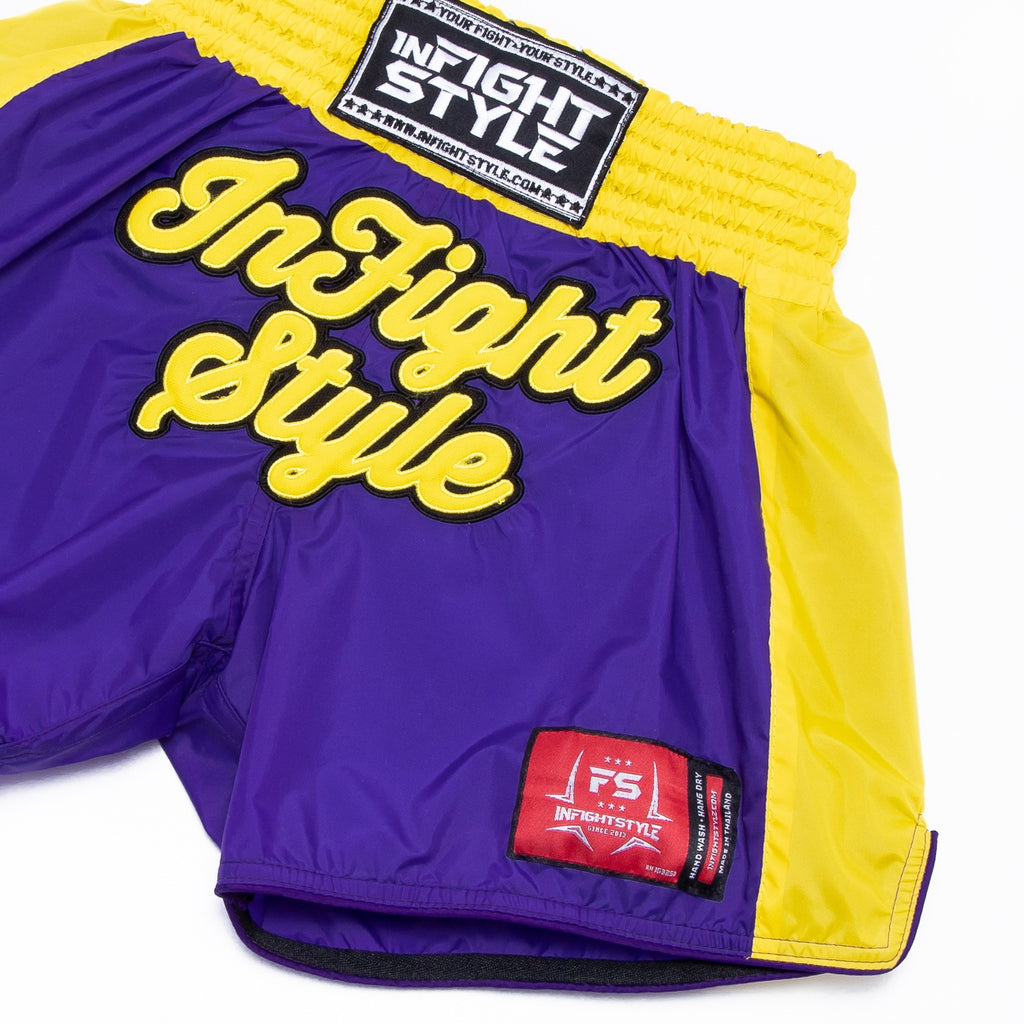 Classic Nylon Retro - Purple/Yellow