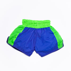 Classic Nylon Retro - Blue/Neon Green