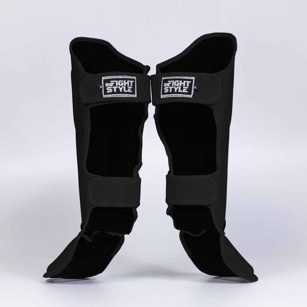 InFightStyle Enfused Shinguards - Black