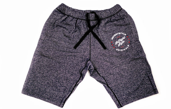 InFightStyle Originals Sweat Shorts - Topdry Blue