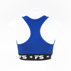 InFightStyle Performance Sports Bra - Blue - InFightStyle Muay Thai Gear, Sports Bra