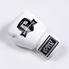 InFightStyle Classic Muay Thai Boxing Gloves - White - InFightStyle Muay Thai Gear, Boxing Gloves