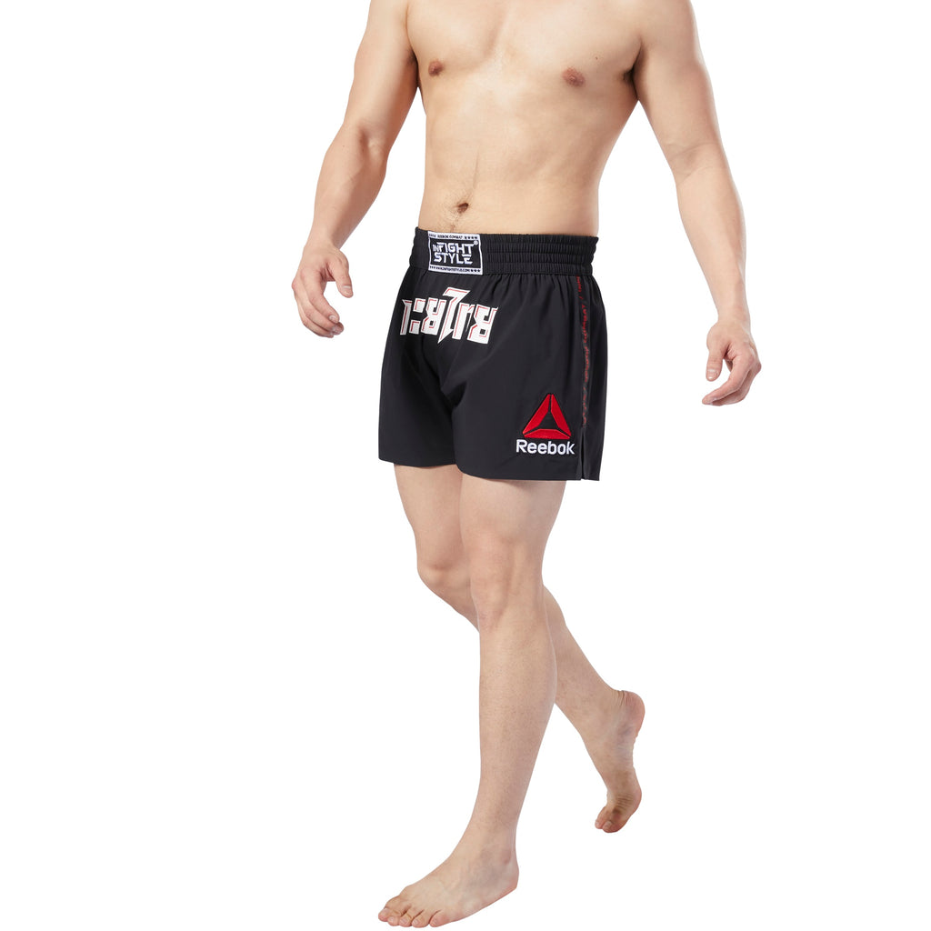 InFightStyle x Reebok Combat Tech Thai Shorts - InFightStyle Muay Thai Gear, Retro Shorts