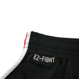 "InFightStyle ""EZ-Fight"" 2.0 - Red - InFightStyle Muay Thai Gear, Training Line Shorts"