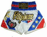 "Infightstyle ""Pilipinas"" Muay Thai Shorts - InFightStyle Muay Thai Gear, Traditional Muay Thai Shorts"