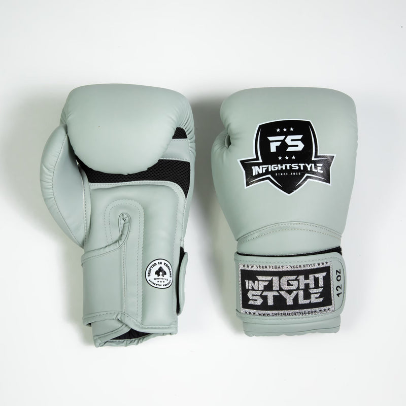InFightStyle Enfused Muay Thai Boxing Glove - Storm Grey