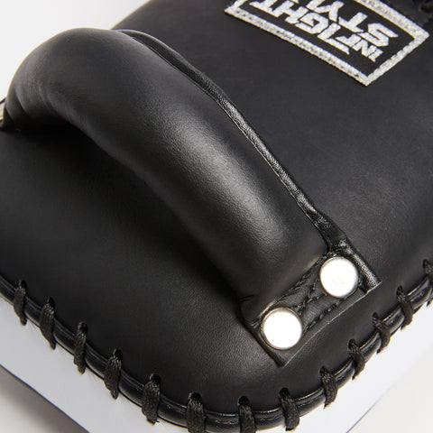 InFightStyle Single Strap Kickpad - Black/White