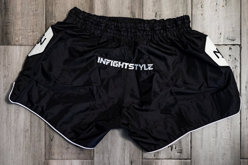InFightStyle x ONNIT Nylon Retro Short - InFightStyle Muay Thai Gear, Retro Shorts