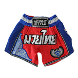 "InFightStyle ""Royal Thai"" Retro - Red/Blue"