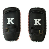 K Brand Legendary Thai Pads (Single Strap)- Red - InFightStyle Muay Thai Gear, Thai Pads