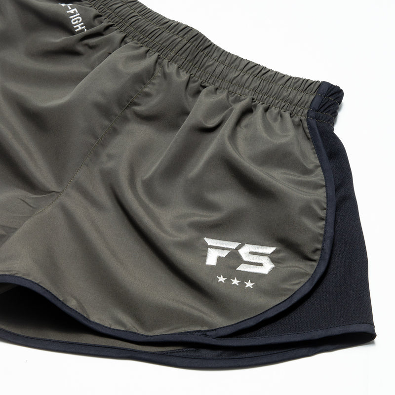 InFightStyle EZ-Fight Shorts - Khaki