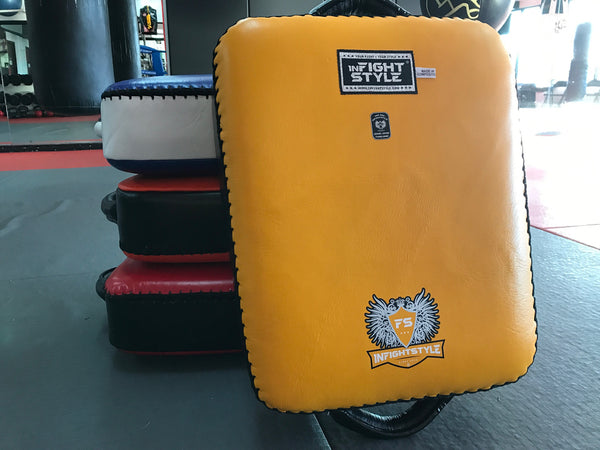 InFightStyle Low Kick Shield - Yellow