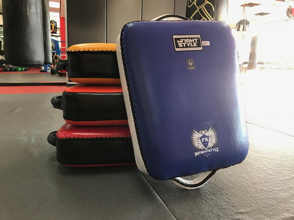 InFightStyle Low Kick Shield - Blue